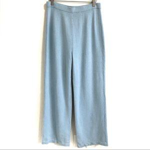 St John Collection Santana Knit High Rise Pants